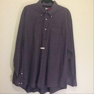 Tommy Hilfiger Vintage Mens XL Dress shirt (095)